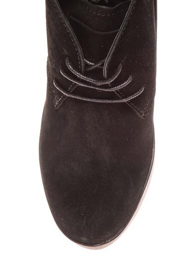 Black Pepper Dolgu Topuklu Bot Siyah